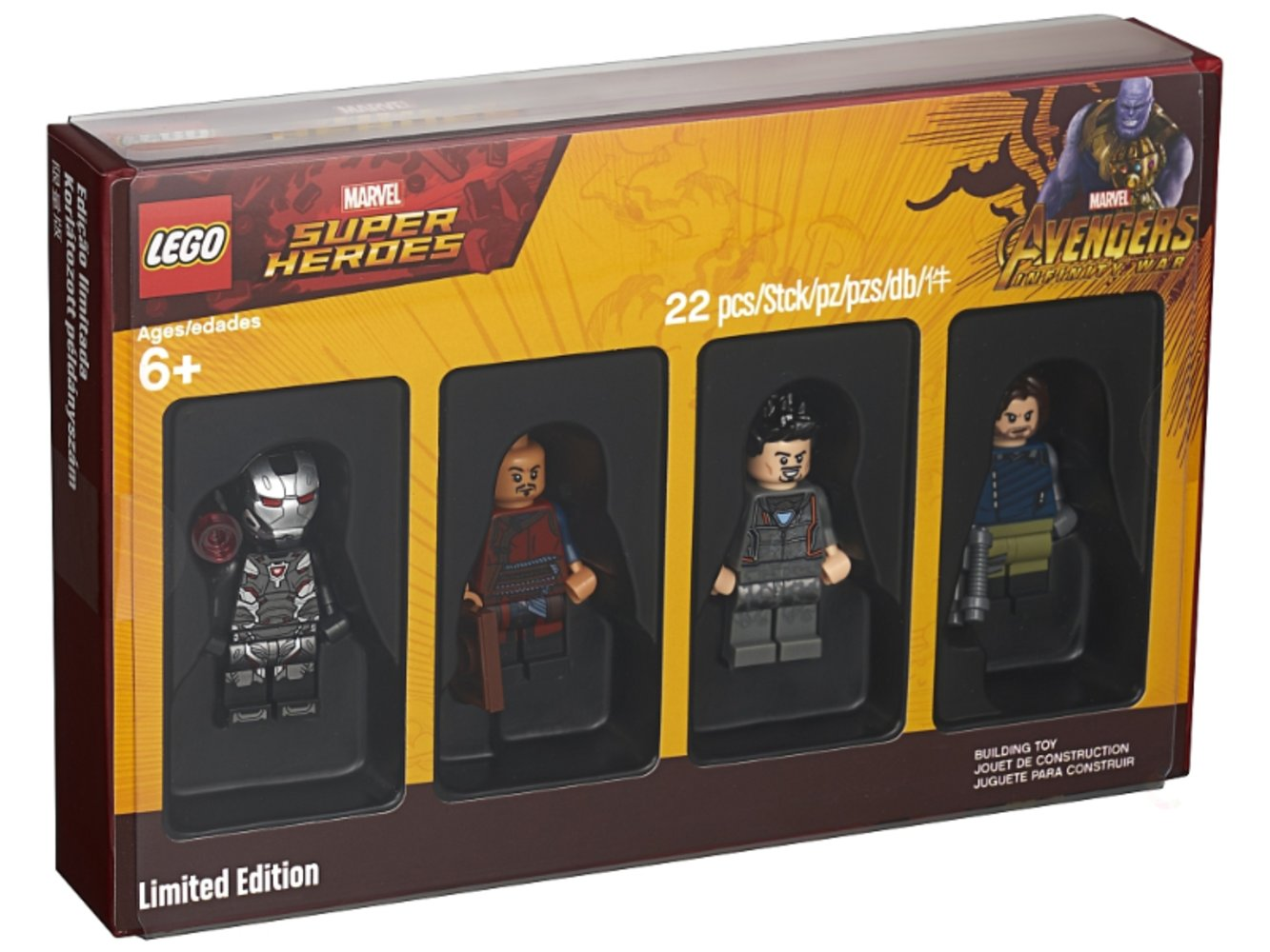 Collectible Minifigures - Super Heroes