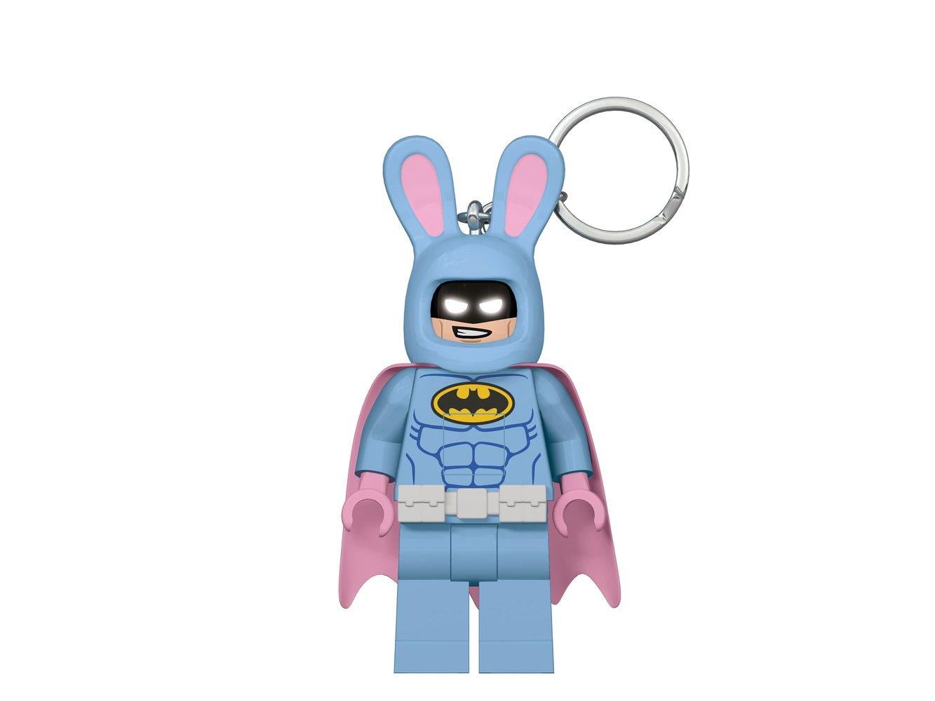 Easter Bunny Batman Minifigure Key Light