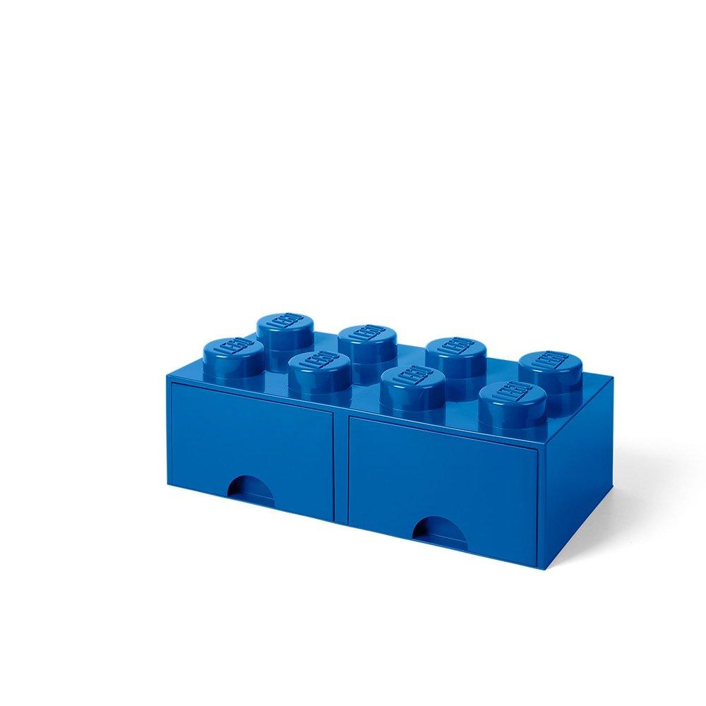 Storage Brick Drawer (8-Stud Blue)