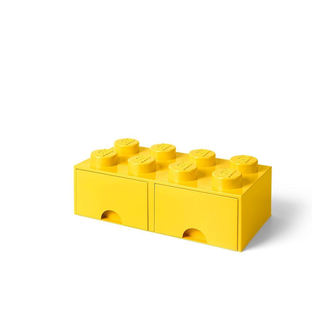 Storage Brick Drawer (8-Stud Yellow)
