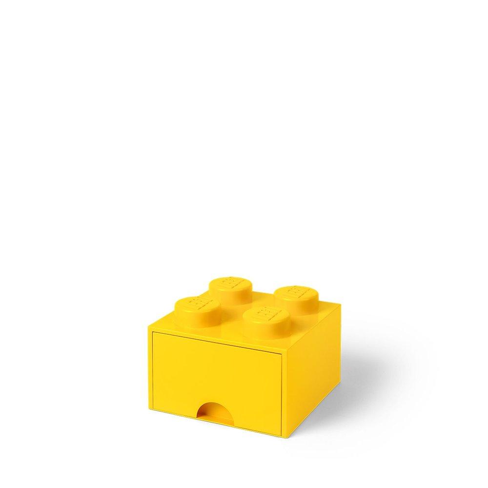 Storage Brick Drawer (4-Stud Yellow)