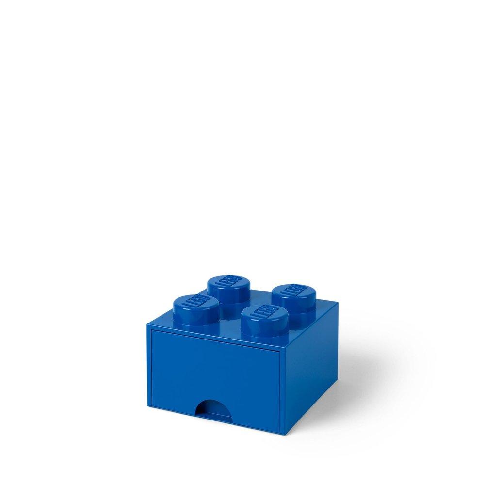 Storage Brick Drawer (4-Stud Blue)