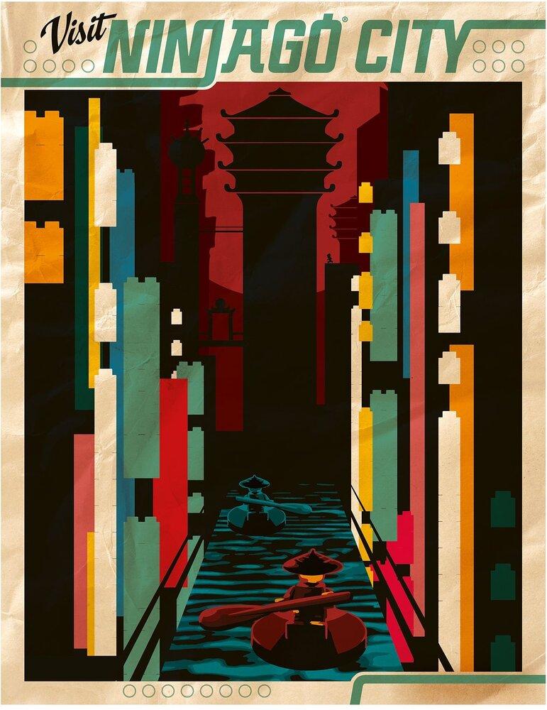 Visit Ninjago City Poster