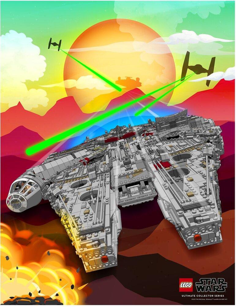 Millennium Falcon Poster