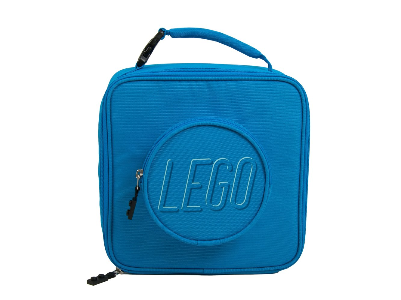 Brick Lunch Bag (Blue)