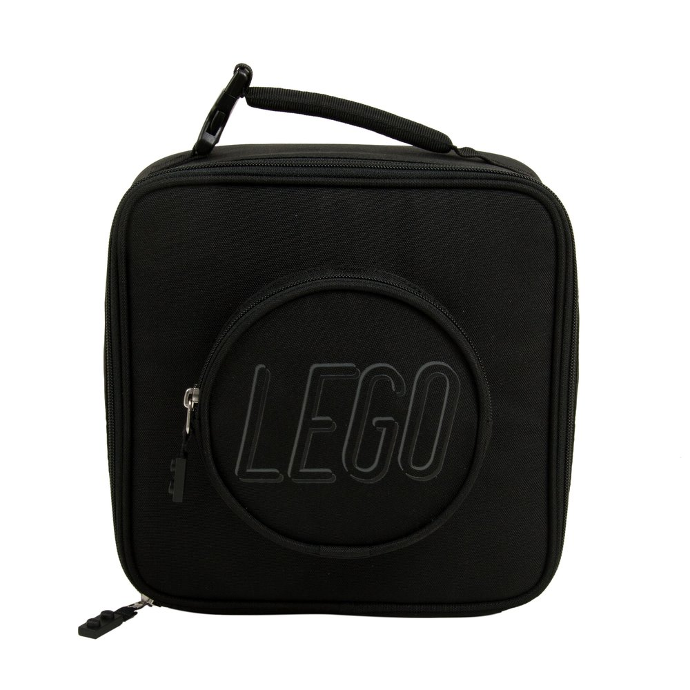 Brick Lunch Bag (Black)