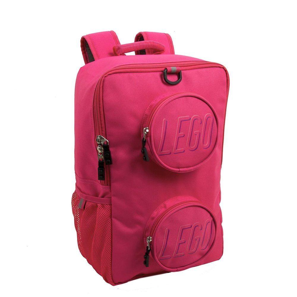 Brick Backpack (Pink)