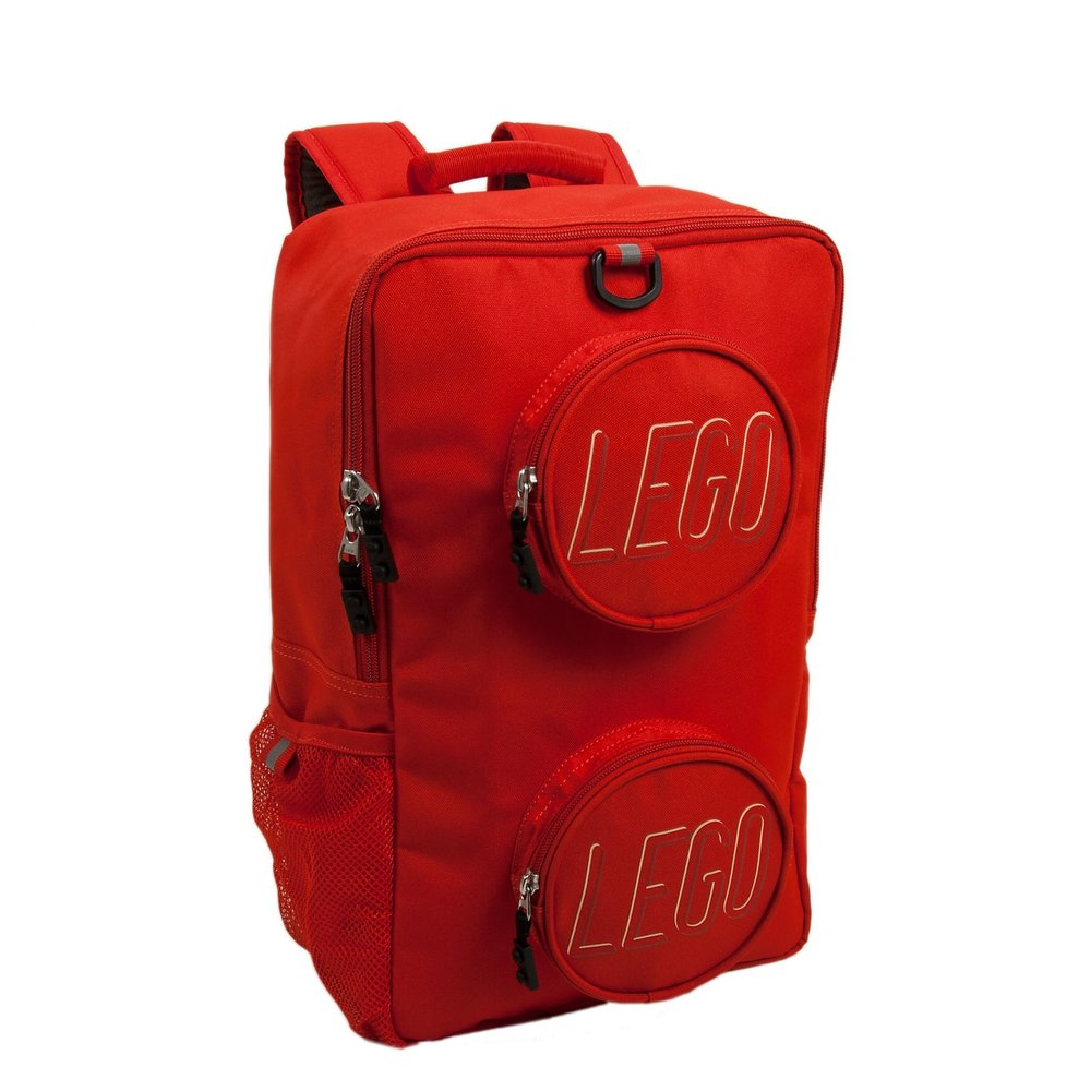 Brick Backpack (Red)
