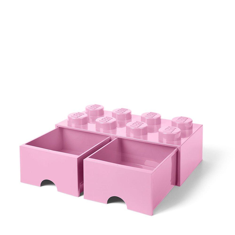 Storage Brick Drawer (8-Stud Bright Pink)