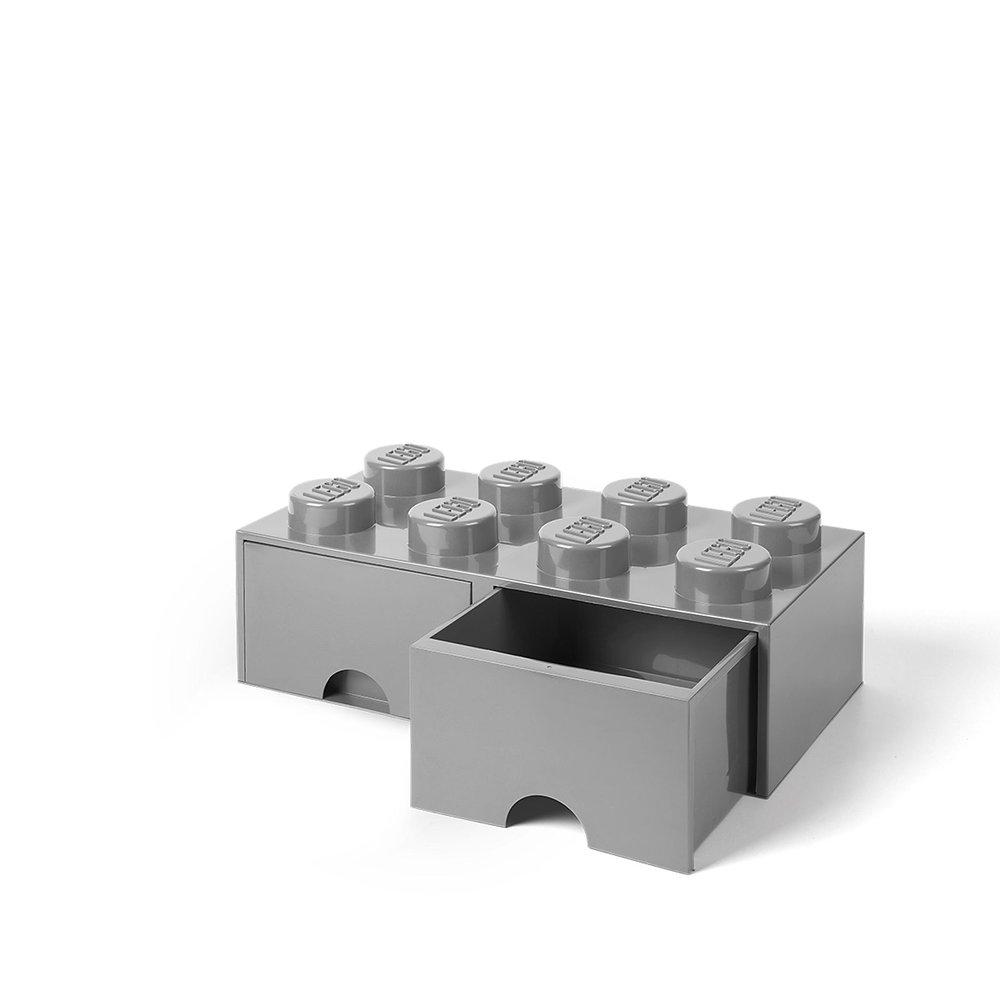 Storage Brick Drawer (8-Stud Light Bluish Gray)
