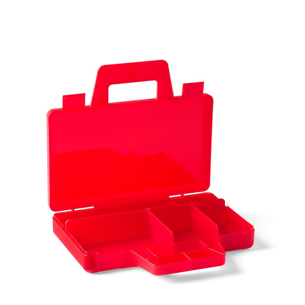 Sorting Case To Go - Transparent Red