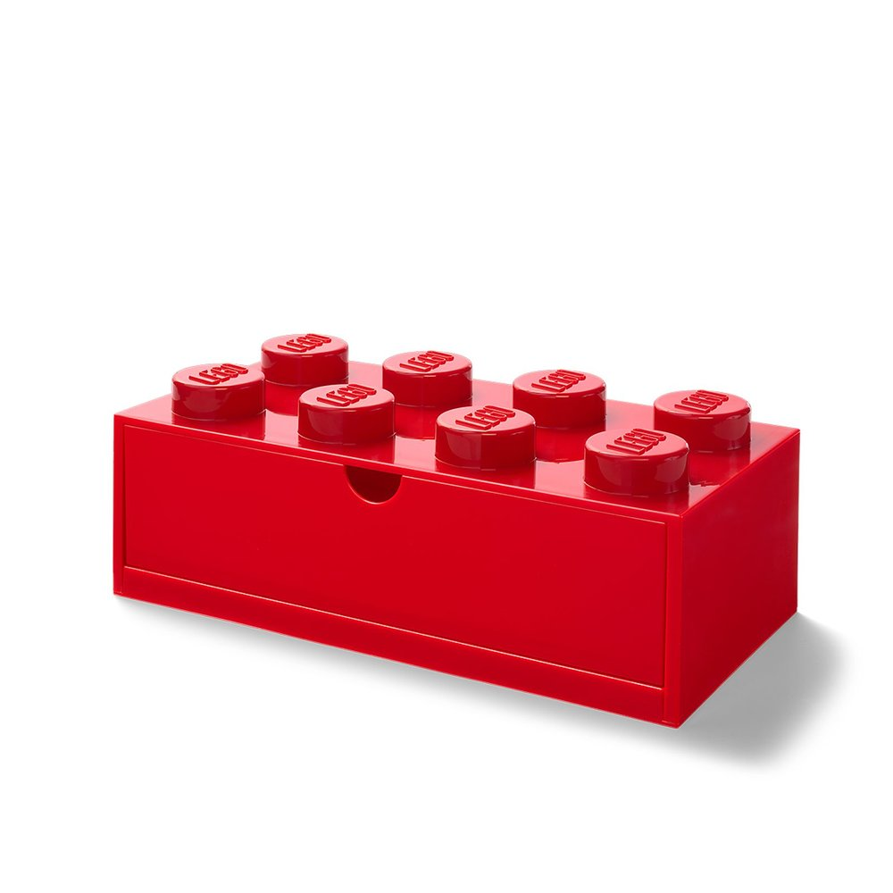 Desk Drawer (8-Stud Red)