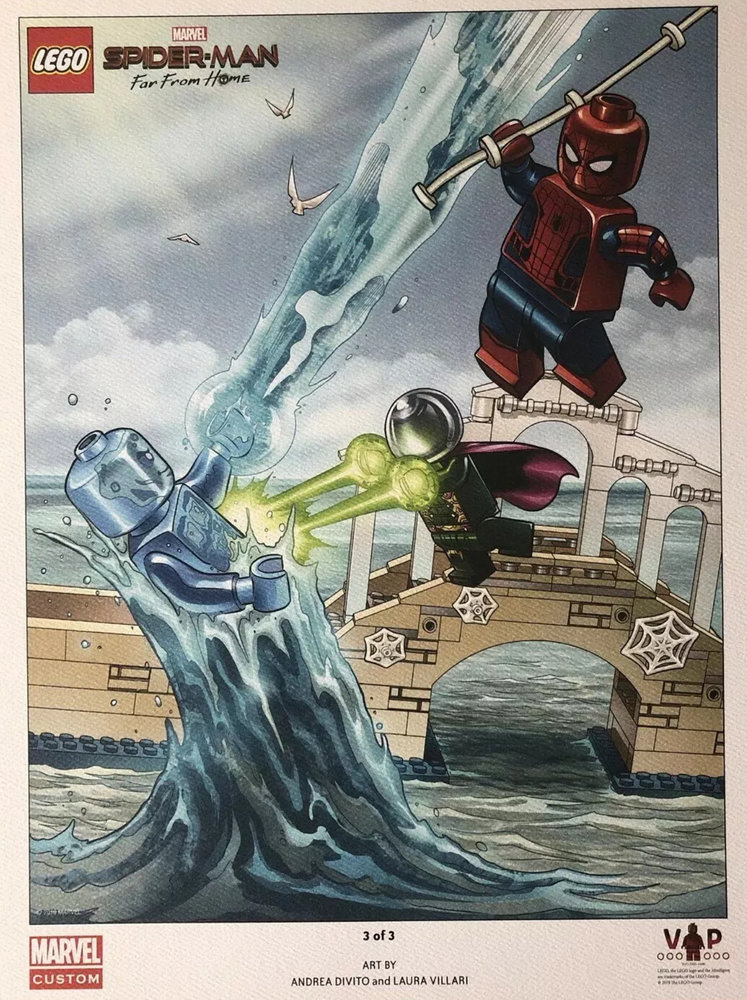 Spider-Man: Far From Home Art Print