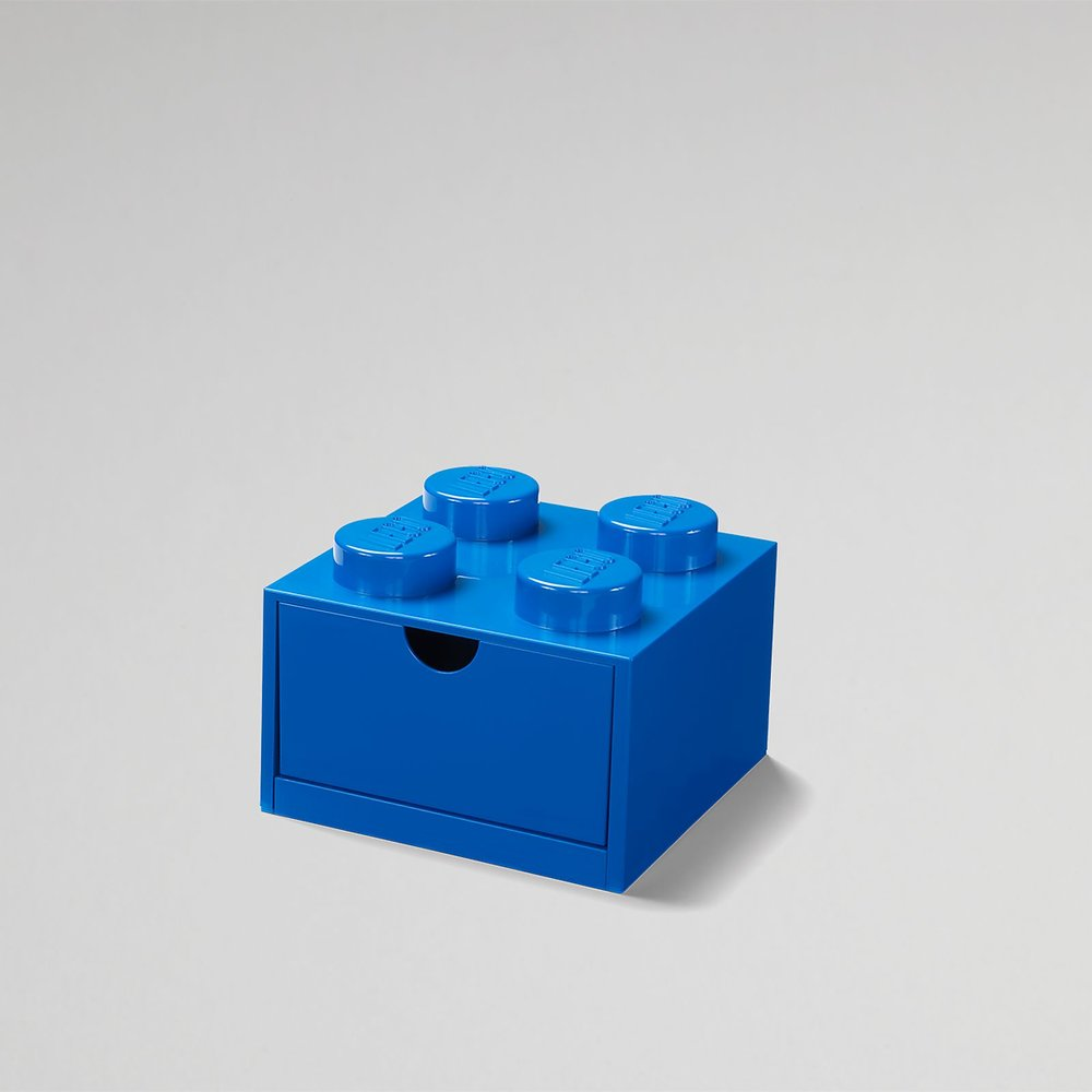 Desk Drawer (4-Stud Blue)