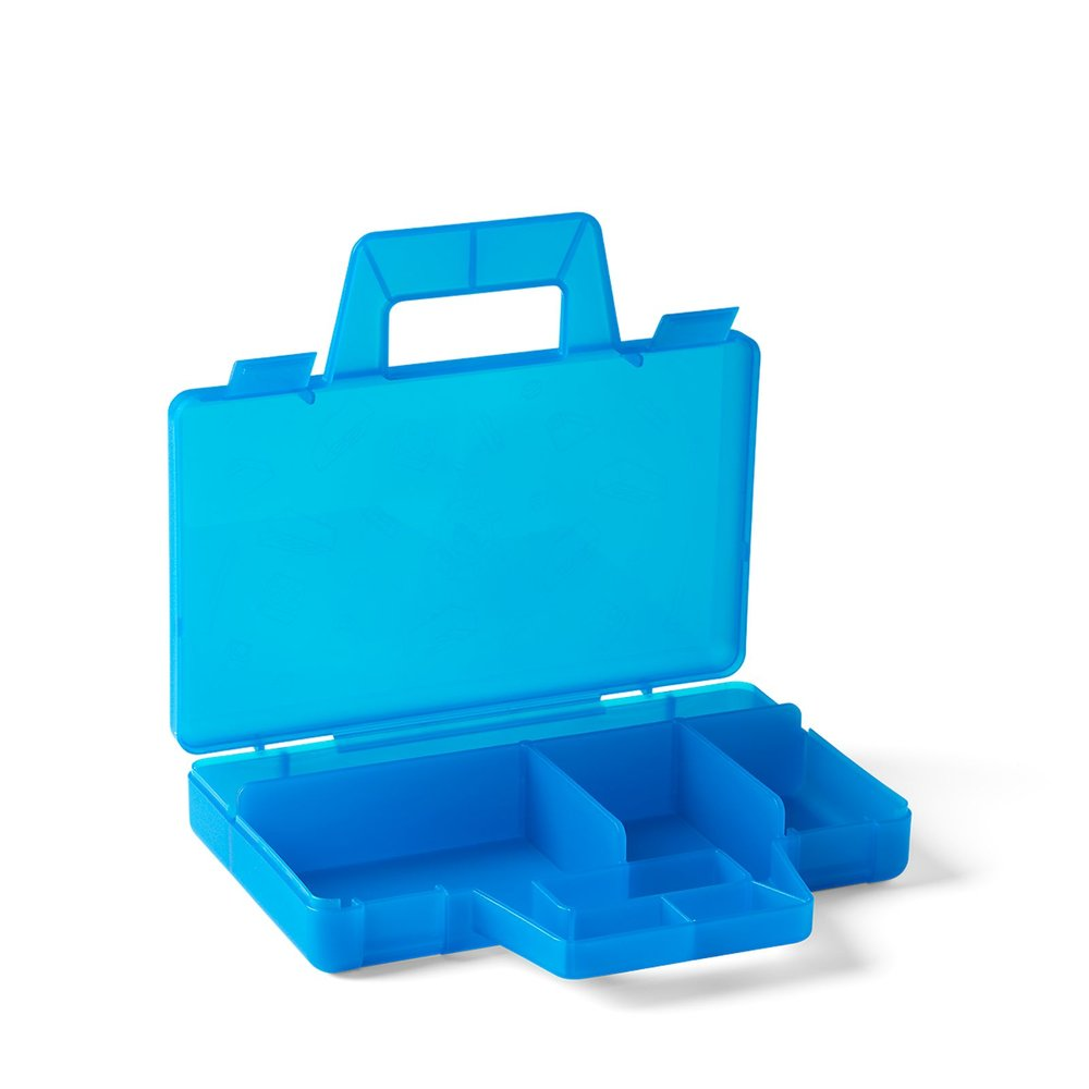 Sorting Case To Go - Transparent Blue