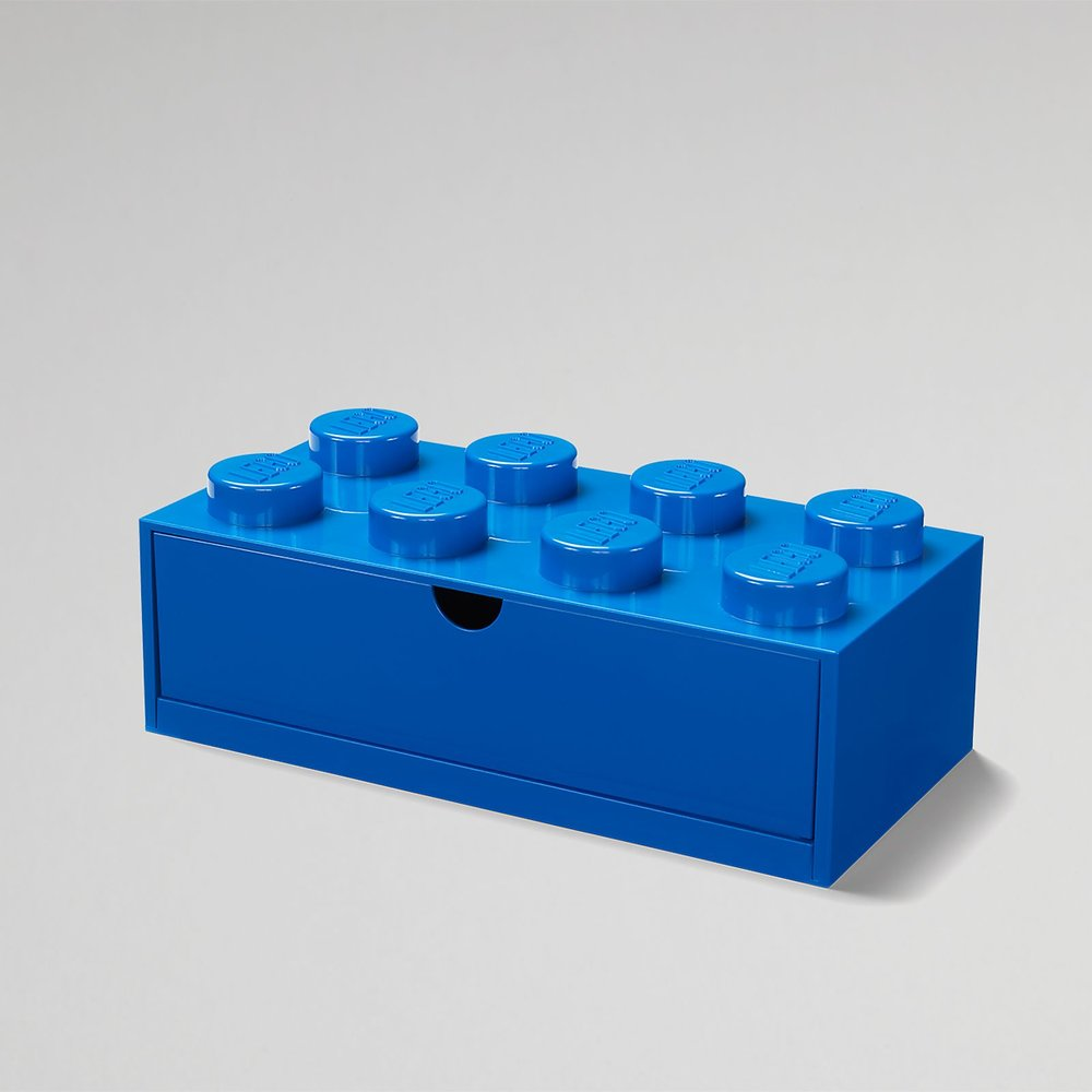 Desk Drawer (8-Stud Blue)