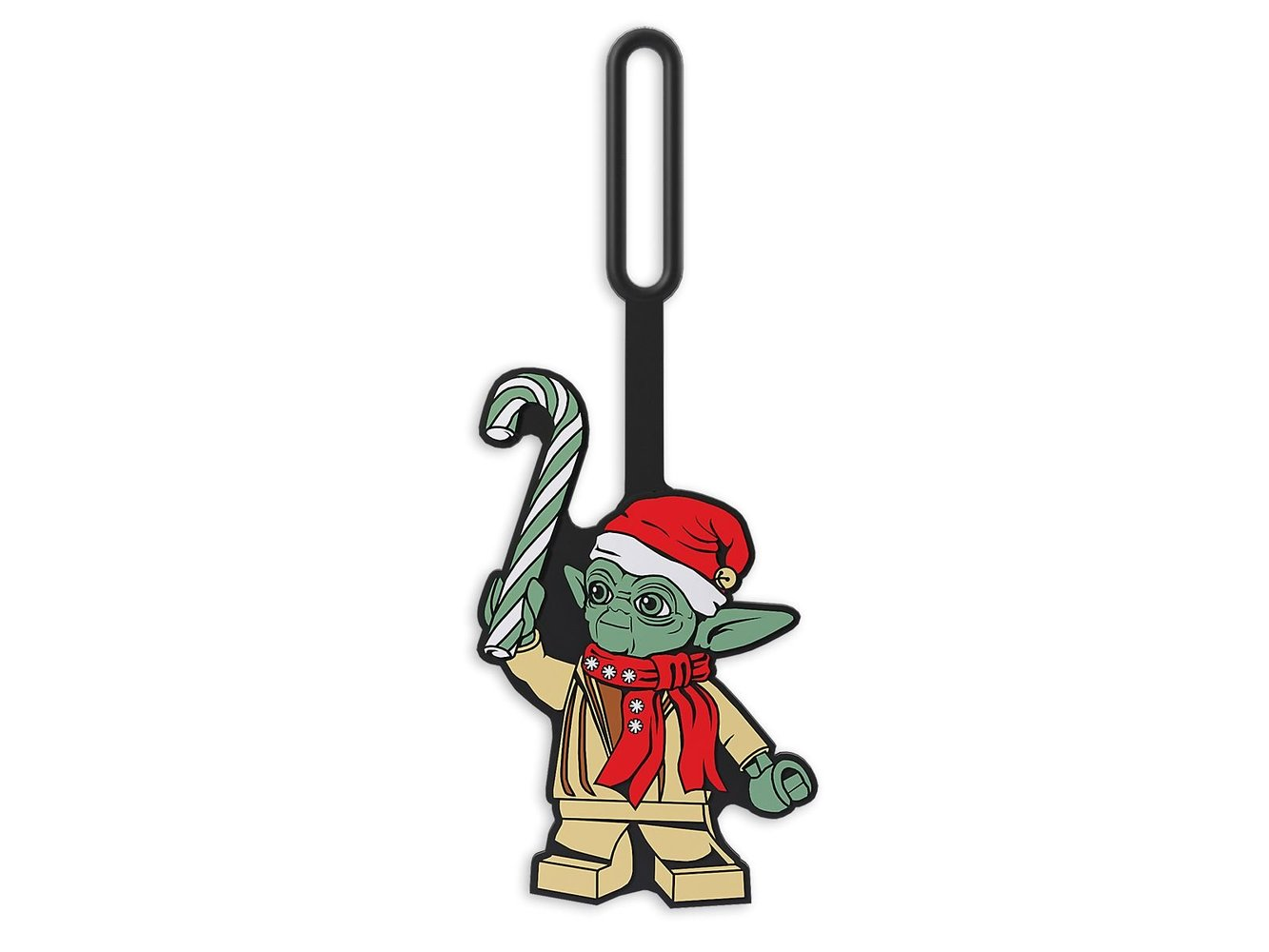 Yoda Holiday Bag Tag