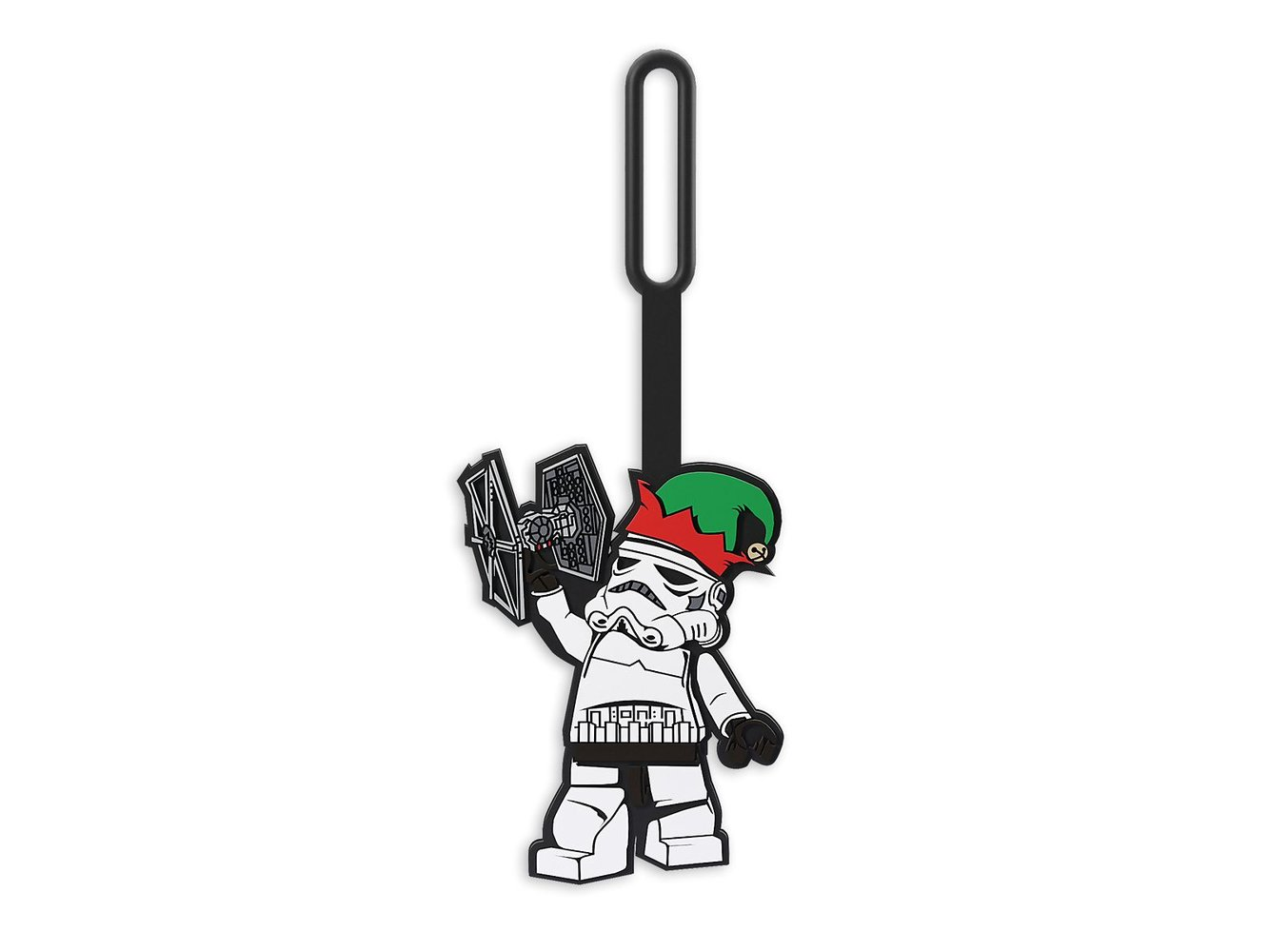 Stormtrooper Holiday Bag Tag