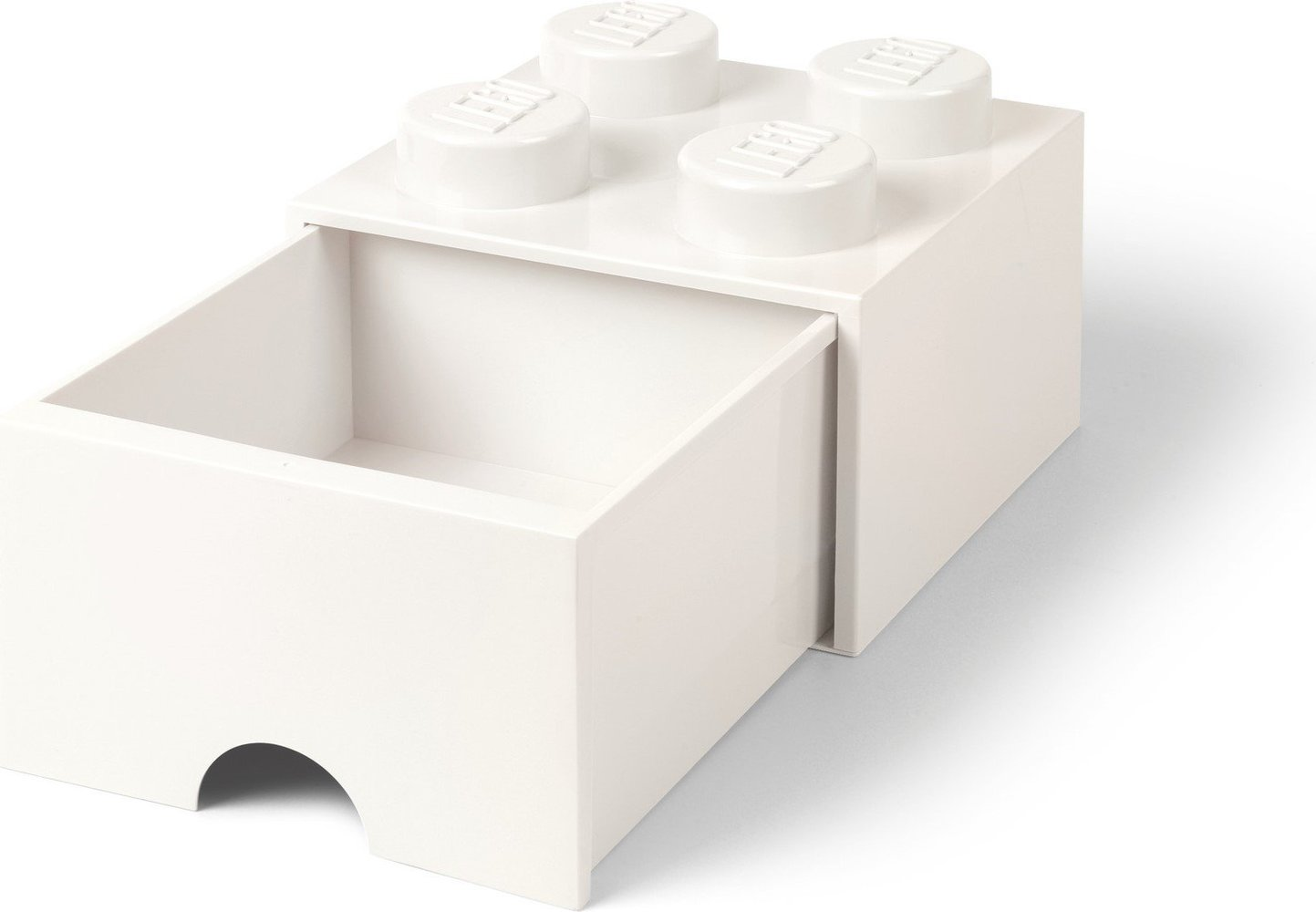 Storage Brick Drawer (4-Stud White)