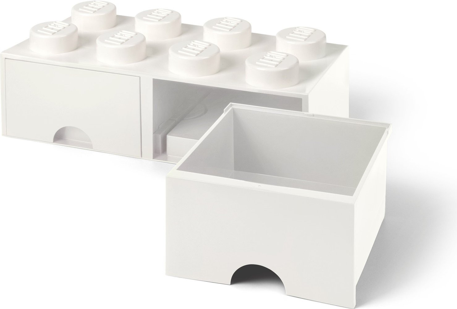 Storage Brick Drawer (8-Stud White)