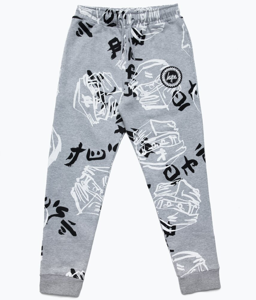 HYPE X LEGO NINJAGO Grey Just Hype Faces Sweatpants