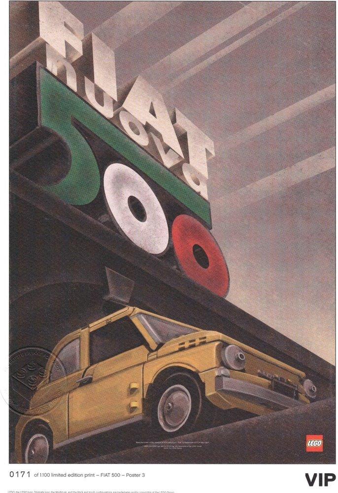 "Fiat Art Print: ""Nuova Italia"""