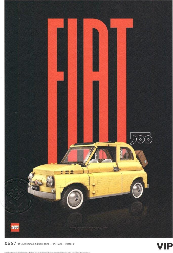 "Fiat Art Print: ""Modern"""