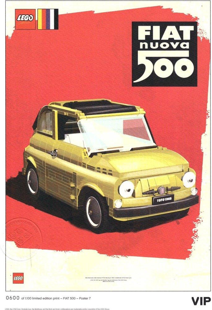 "Fiat Art Print: ""Nuova Russo"""