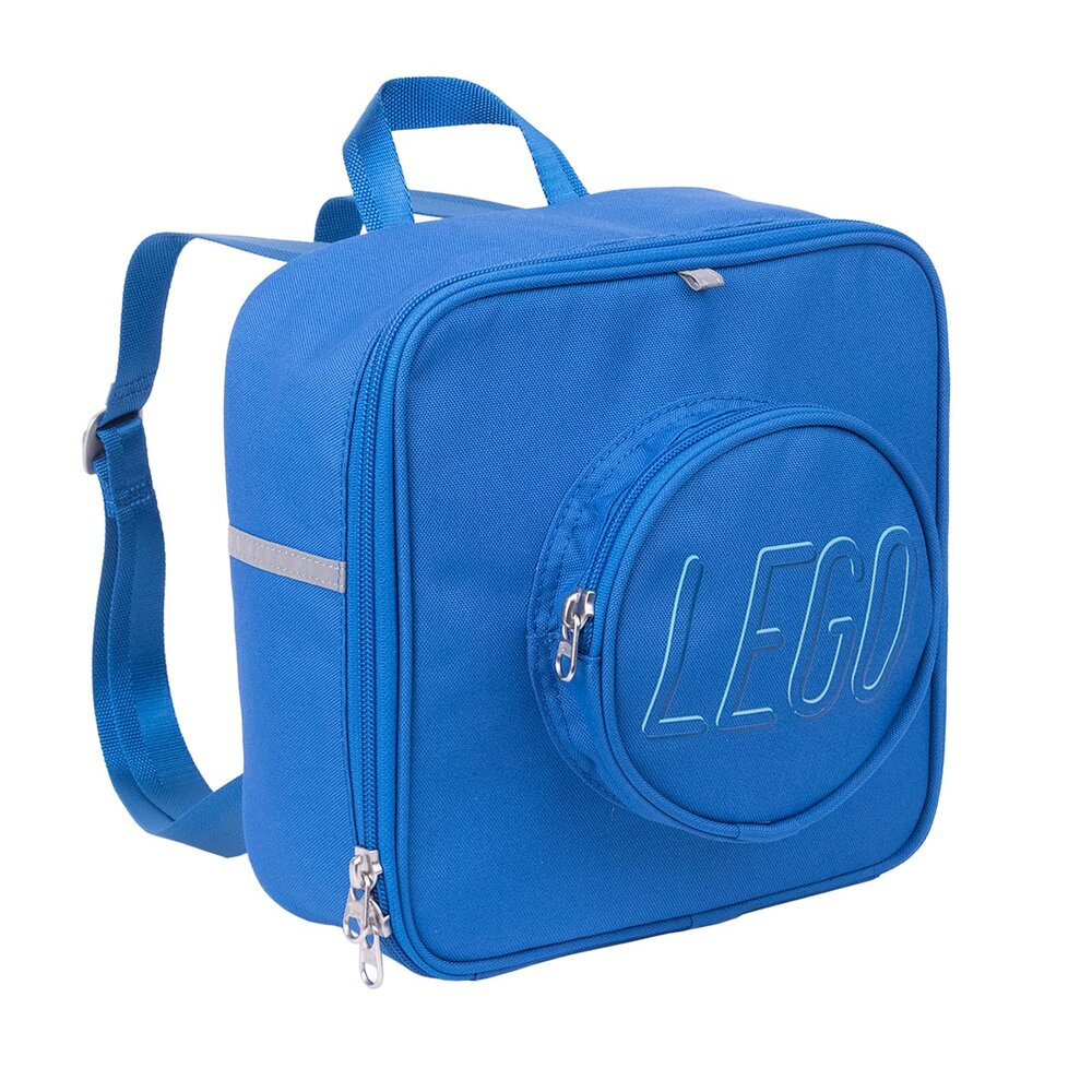 Small Brick Backpack (Blue)