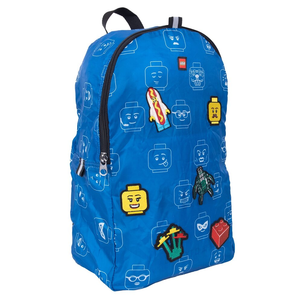 Minifigure Packable Patch Backpack