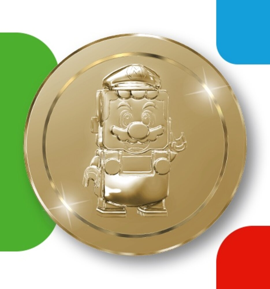 Limited Edition Super Mario Gold Coin