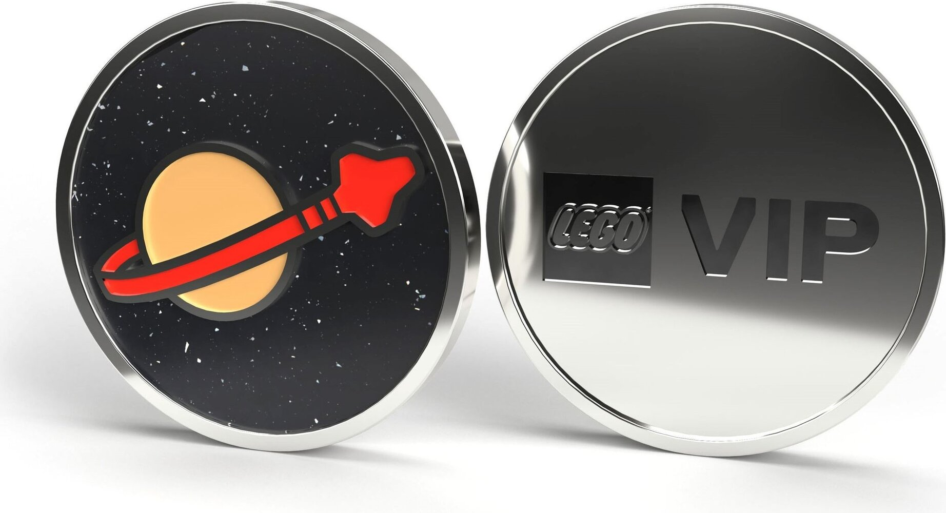 Space Logo Collectible Coin