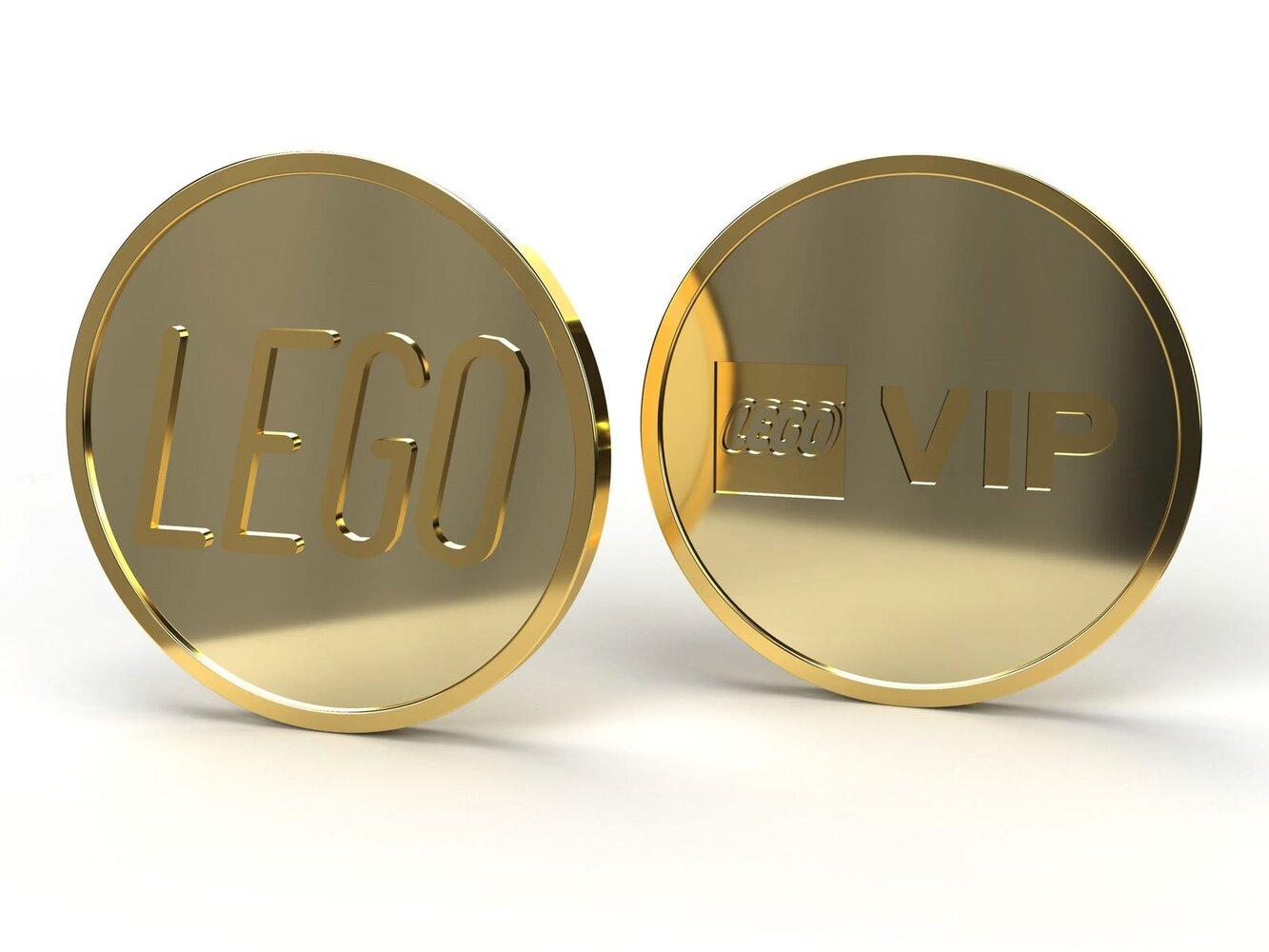 VIP Collectible Gold Coin