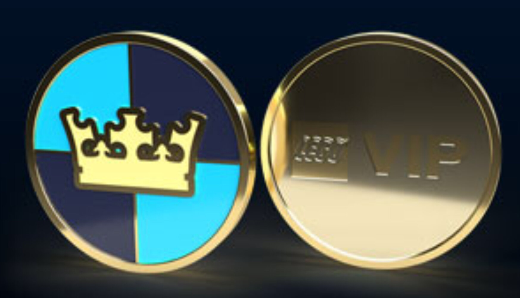 Castle Logo Collectible Coin