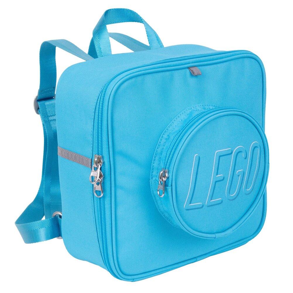 Small Brick Backpack (Medium Azure)