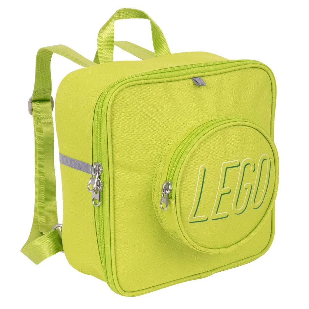 Small Brick Backpack (Lime)