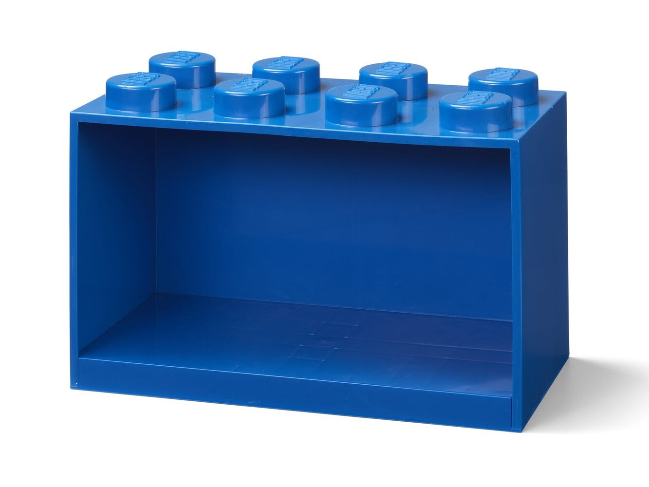 Brick Shelf 8 Knobs (Blue)