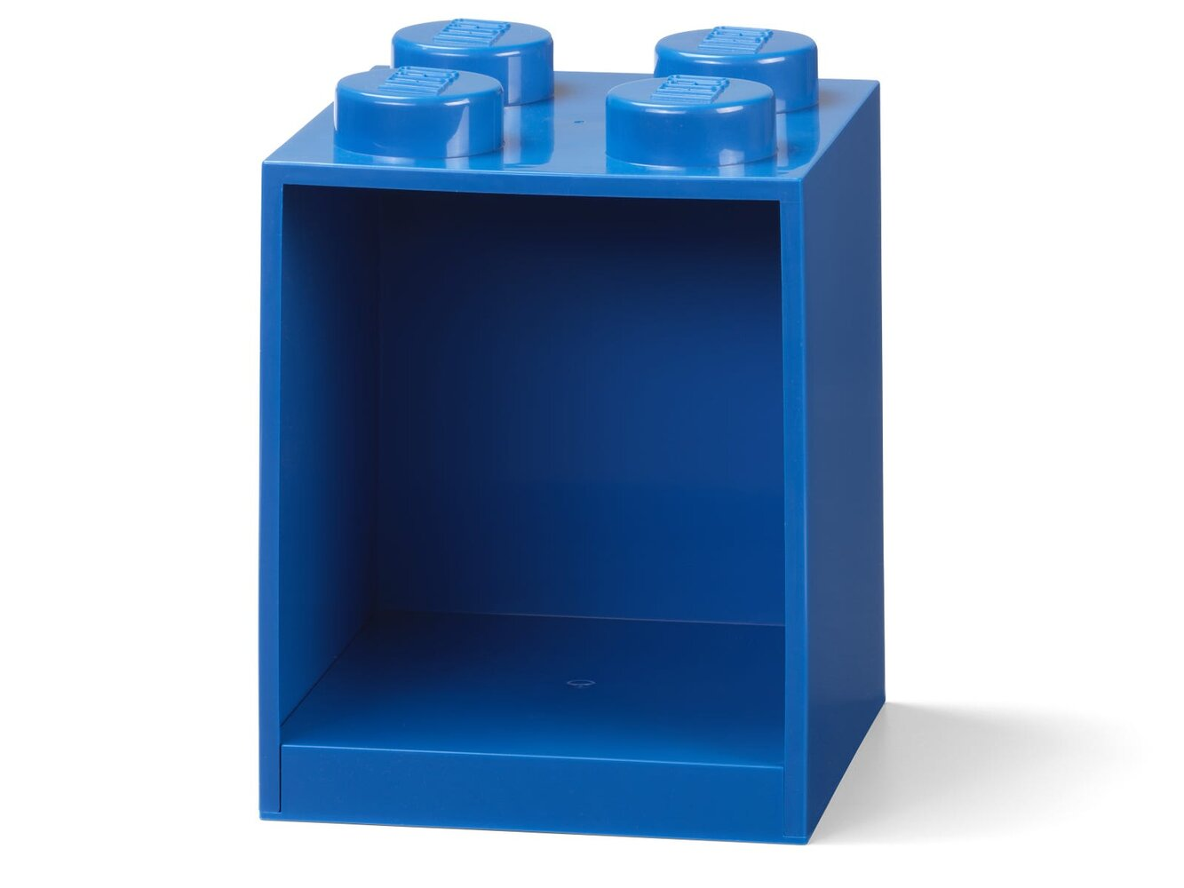 Brick Shelf 4 Knobs (Blue)