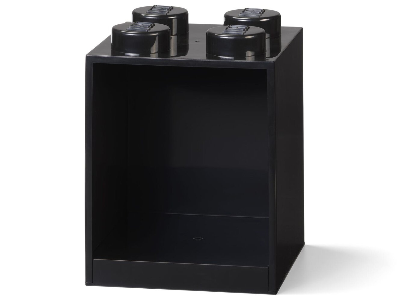 Brick Shelf 4 Knobs (Black)