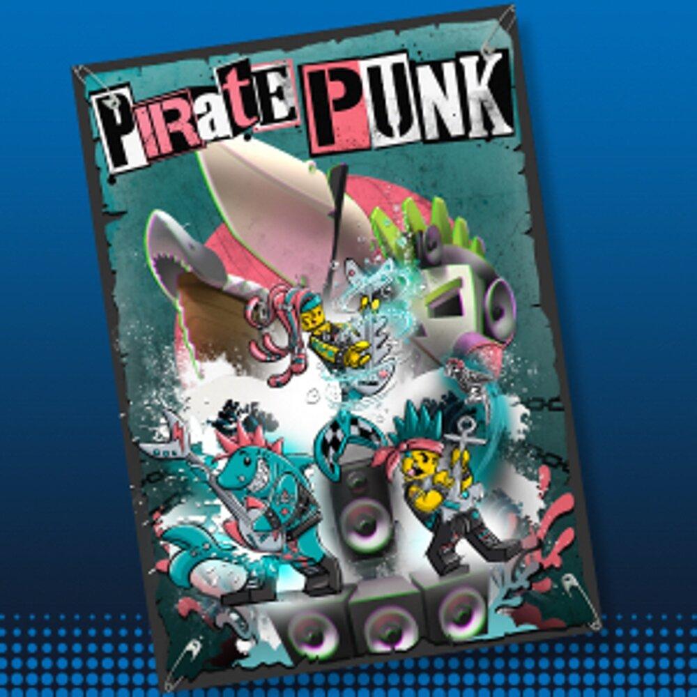 Punk Pirate Concept Art