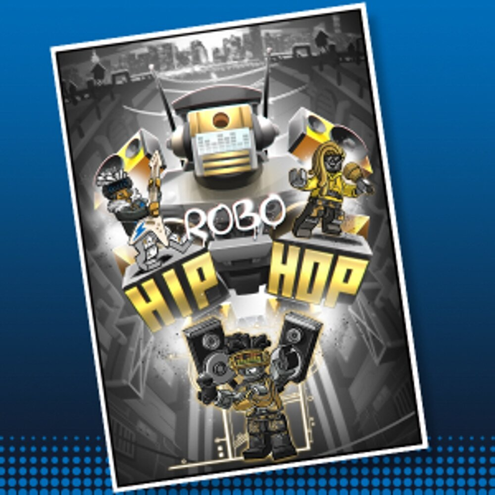 Robo HIP HOP Concept Art