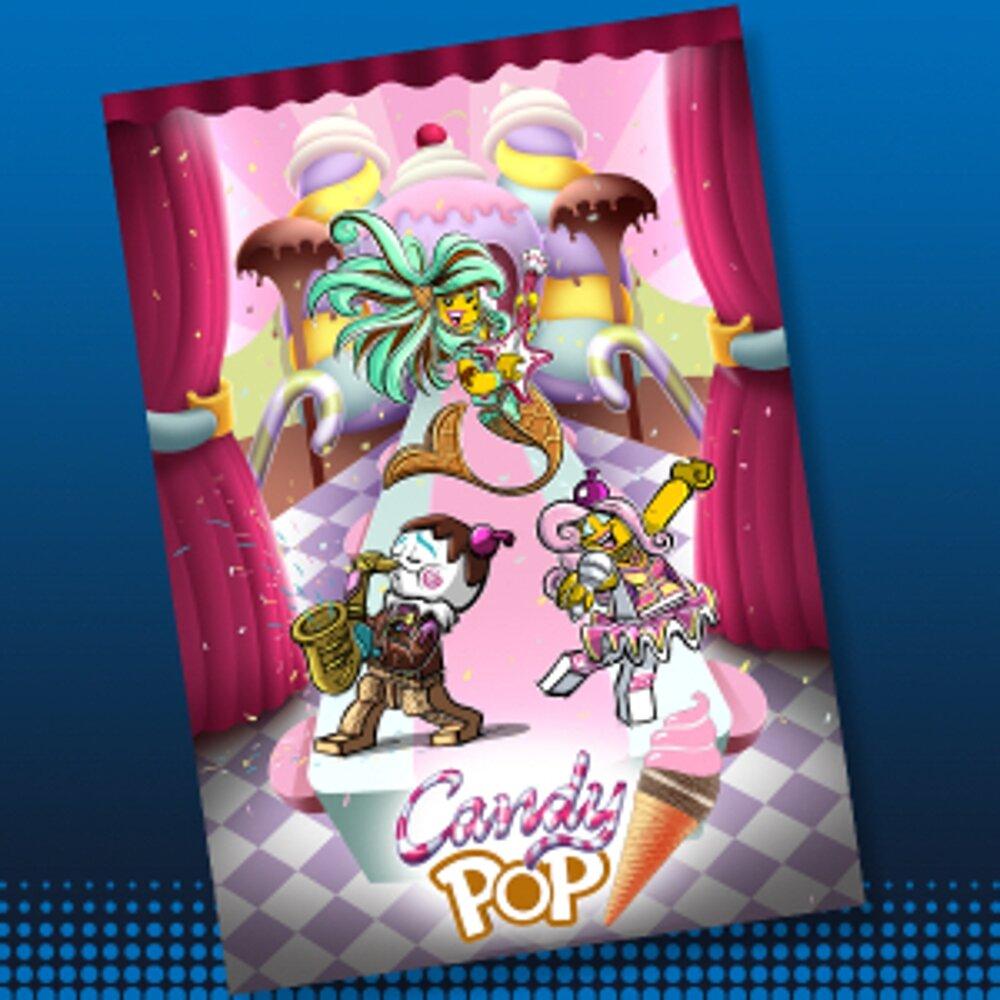 Candy Pop Concept Art