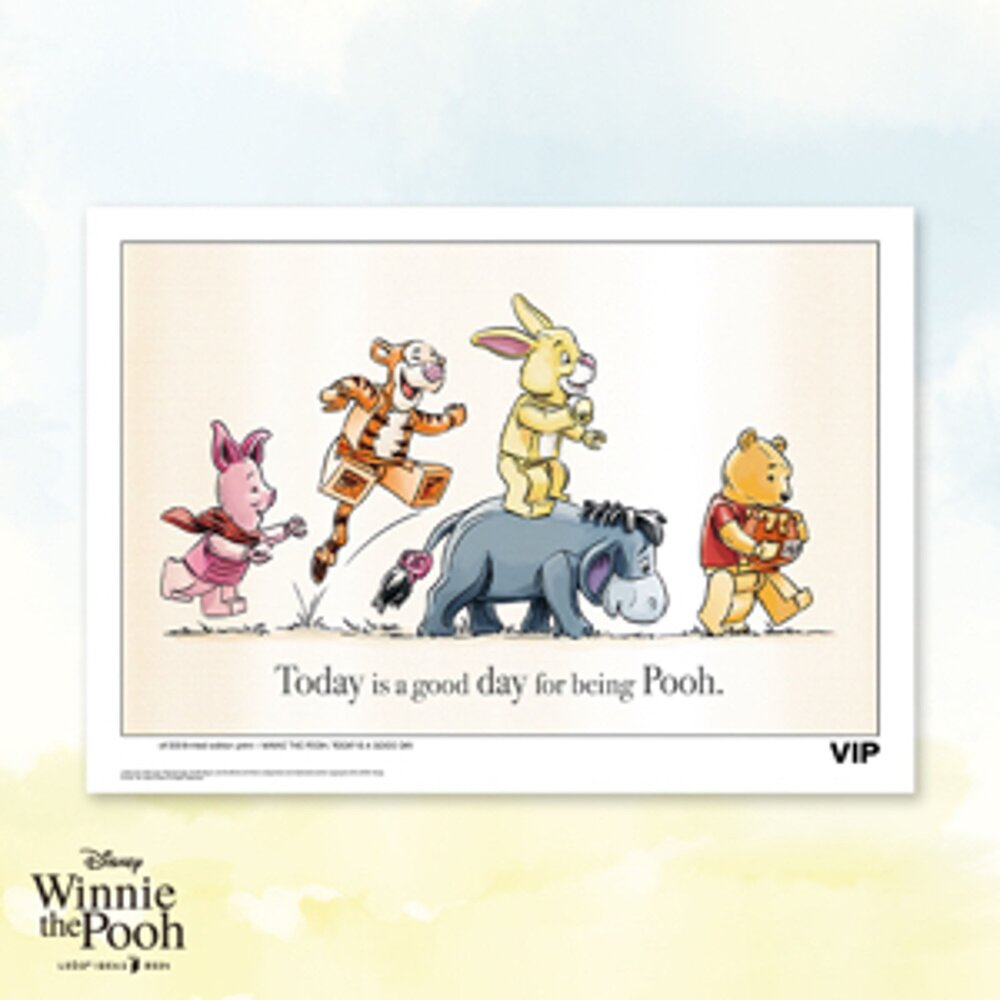 "Winnie the Pooh Sketch: ""Good Day"""