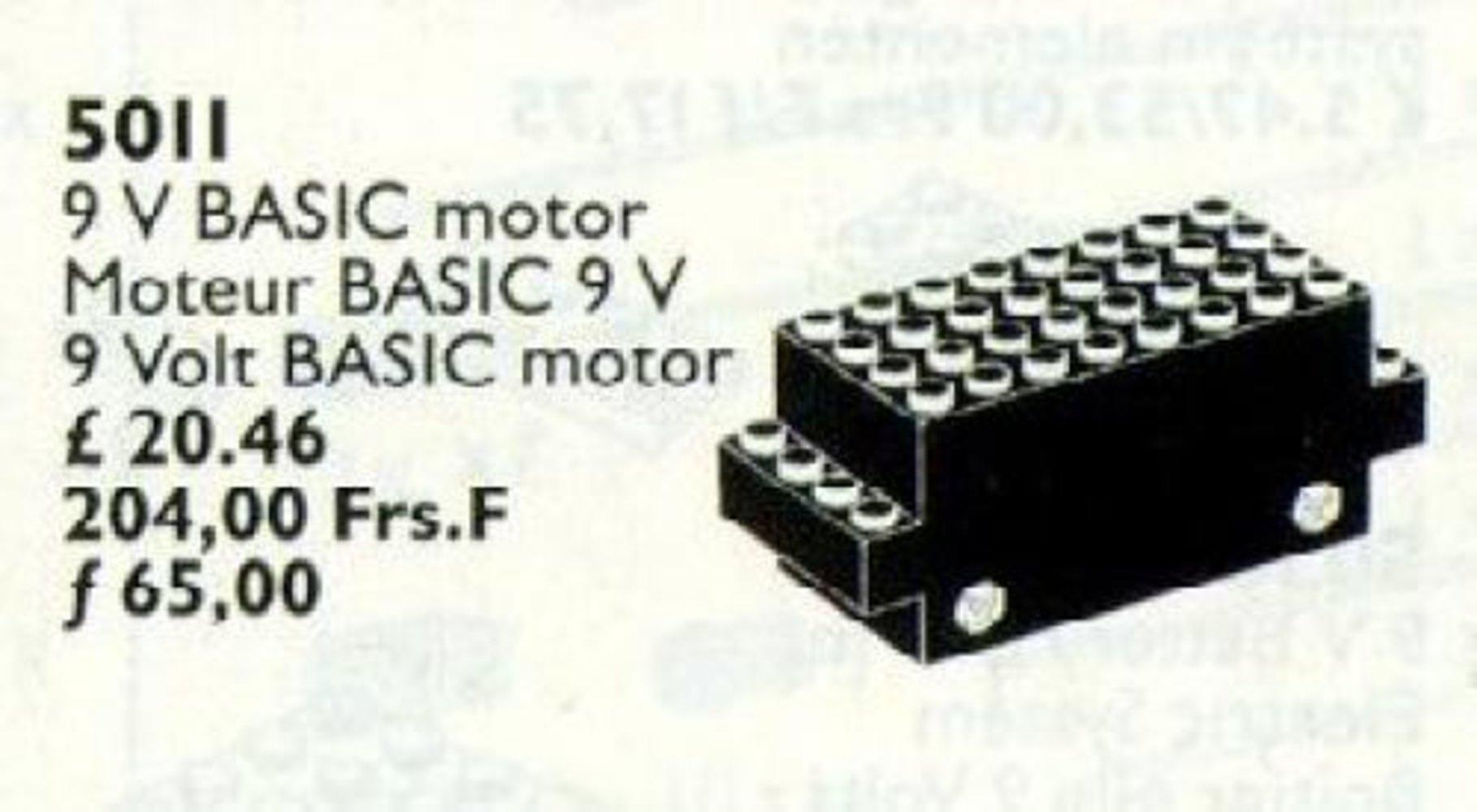 9V Basic Motor