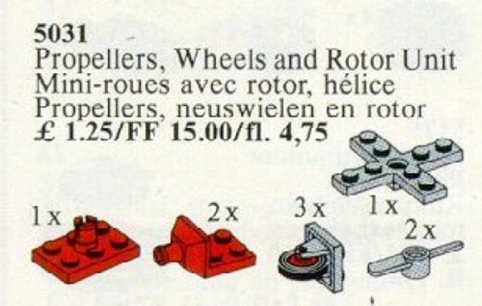 Propellers, Wheels, Rotor Unit