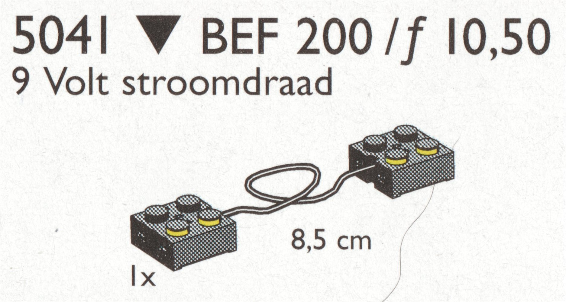 Wire for 9V (9cm)