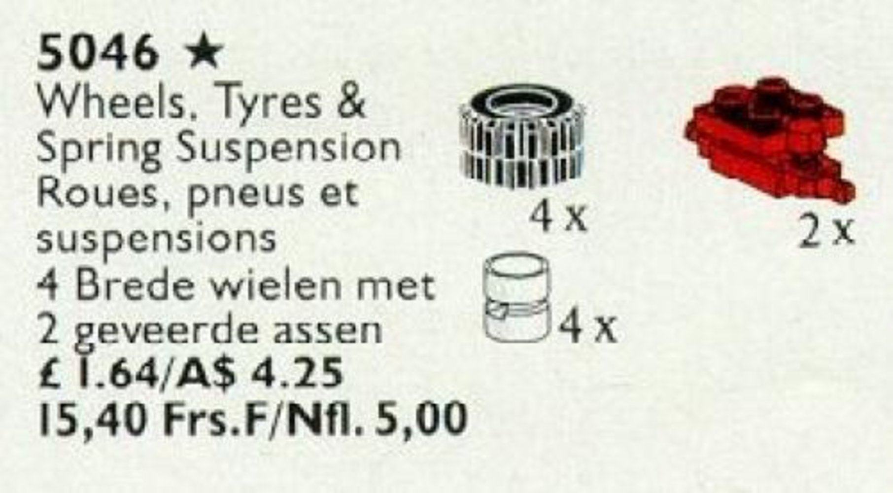 Hub, Tire and Wheel Suspension