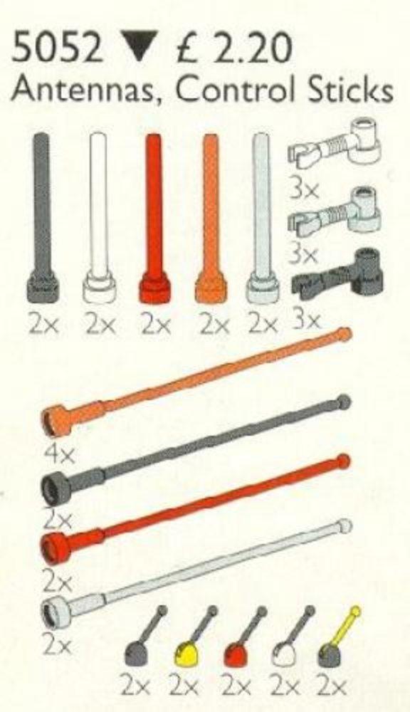 Antennas, Control Sticks