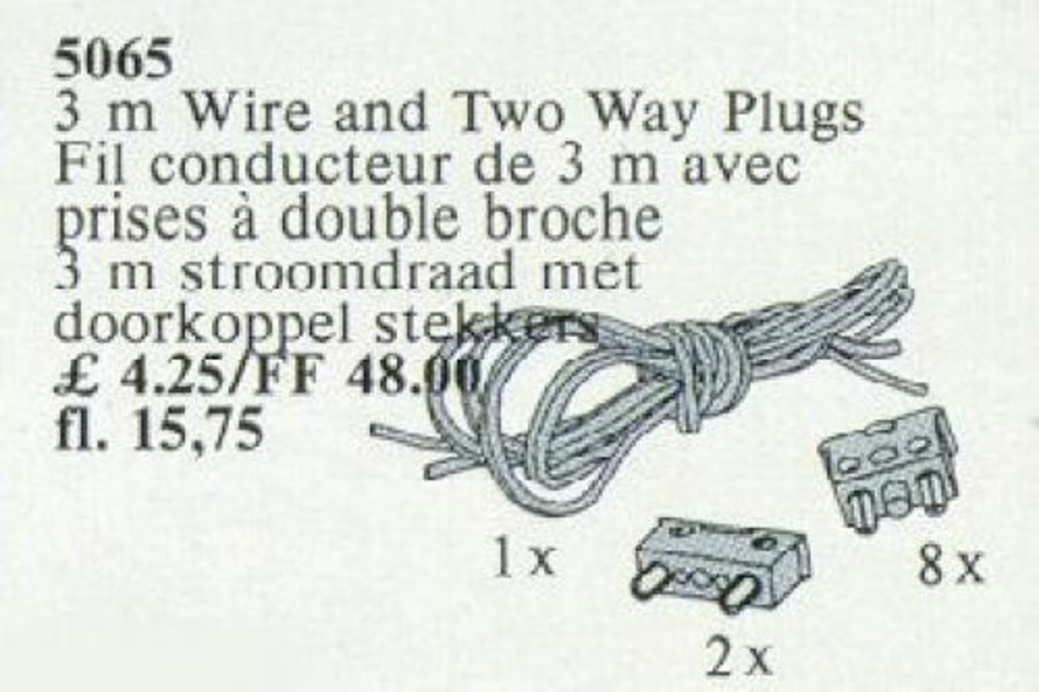 3m Wiring and Two-Way Plug