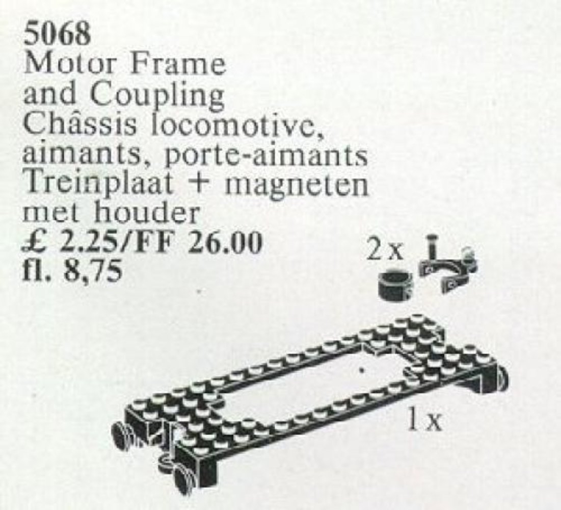 Motor Frame and Coupling